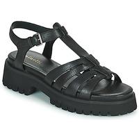 鞋子 女士 凉鞋 Minelli HELLHA 黑色