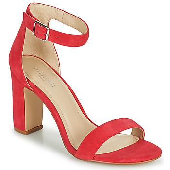 鞋子 女士 凉鞋 Minelli FRAMBLISSA 覆盆子红