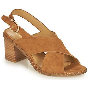 鞋子 女士 凉鞋 Minelli CASIMIERA 棕色
