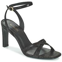 鞋子 女士 凉鞋 Minelli THIPHANNIE 黑色