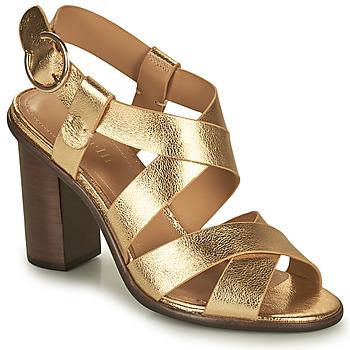 鞋子 女士 凉鞋 Minelli THIYA 金色