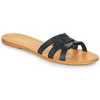 鞋子 女士 休闲凉拖/沙滩鞋 So Size MELINDA 黑色
