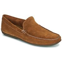 鞋子 男士 皮便鞋 So Size MIJI 驼色