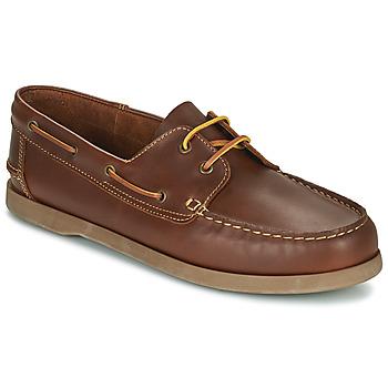 鞋子 男士 船鞋 So Size MALIK 茶色