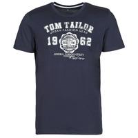 衣服 男士 短袖体恤 Tom Tailor 汤姆裁缝  海蓝色