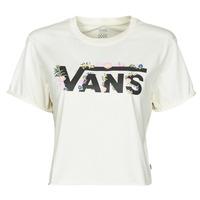 衣服 女士 短袖体恤 Vans 范斯 BLOZZOM ROLL OUT 白色