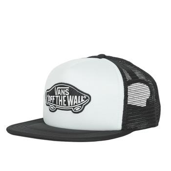 纺织配件 鸭舌帽 Vans 范斯 CLASSIC PATCH TRUCKER 白色 / 黑色