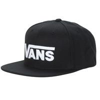 纺织配件 鸭舌帽 Vans 范斯 DROP V II SNAPBACK 黑色 / 白色