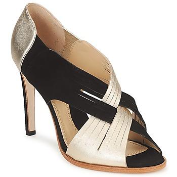 鞋子 女士 高跟鞋 Moschino MINEK 黑色 / 金色