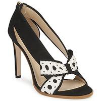 鞋子 女士 高跟鞋 Moschino DELOS ESCA 黑色 / 象牙色