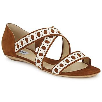 鞋子 女士 凉鞋 Moschino DELOS SAND 驼色 / 象牙色