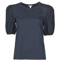 衣服 女士 短袖体恤 Esprit 埃斯普利 T-SHIRTS 黑色