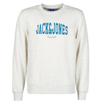 衣服 男士 卫衣 Jack & Jones 杰克琼斯 JORHART 白色