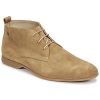 鞋子 男士 短筒靴 Carlington 卡尔顿 EONARD 米色