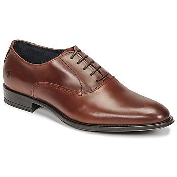 鞋子 男士 系带短筒靴 Carlington 卡尔顿 OLILO 棕色