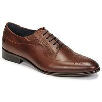 鞋子 男士 系带短筒靴 Carlington 卡尔顿 OULIO 棕色
