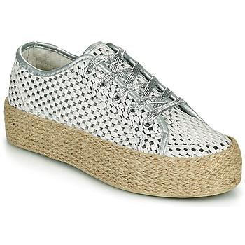 鞋子 女士 球鞋基本款 Café Noir DROMA 白色 / 银灰色