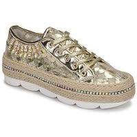 鞋子 女士 球鞋基本款 Café Noir KINITA 金色