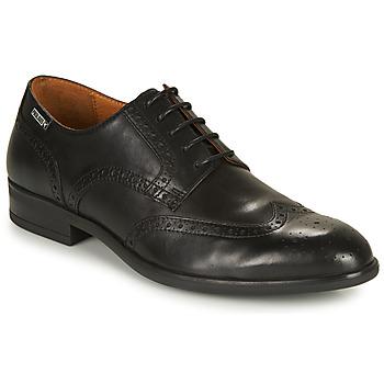 鞋子 男士 德比 Pikolinos 派高雁 BRISTOL M7J 黑色