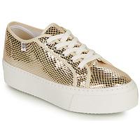 鞋子 女士 球鞋基本款 Yurban SUPERTELA 金色