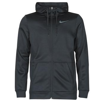 衣服 男士 卫衣 Nike 耐克 TF HD FZ 黑色 / 灰色