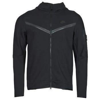 衣服 男士 运动款外套 Nike 耐克 NSTCH FLC HOODIE FZ WR 黑色