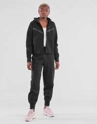 衣服 女士 厚裤子 Nike 耐克 NSTCH FLC ESSNTL HR PNT 黑色