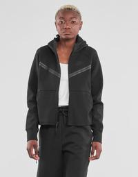 衣服 女士 运动款外套 Nike 耐克 NSTCH FLC WR ESSNTL FZ HDY 黑色