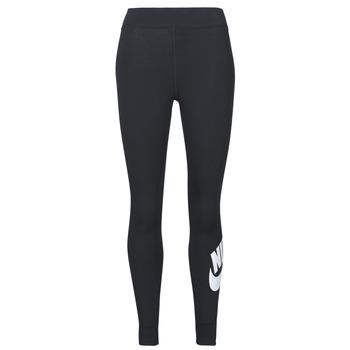 衣服 女士 紧身裤 Nike 耐克 NSESSNTL GX HR LGGNG FTRA 黑色 / 白色