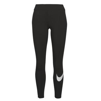 衣服 女士 紧身裤 Nike 耐克 NSESSNTL GX MR LGGNG SWSH 黑色 / 白色