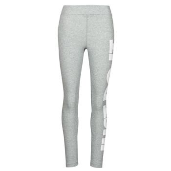 衣服 女士 紧身裤 Nike 耐克 NSESSNTL GX HR LGGNG JDI 灰色 / 白色