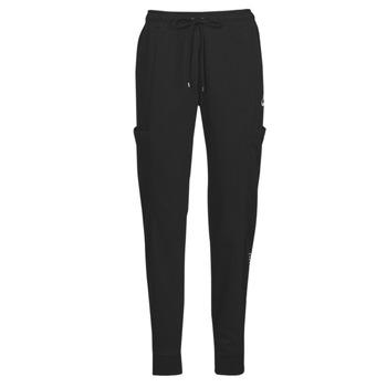 衣服 女士 厚裤子 Nike 耐克 NSAIR PANT FLC MR 黑色 / 白色