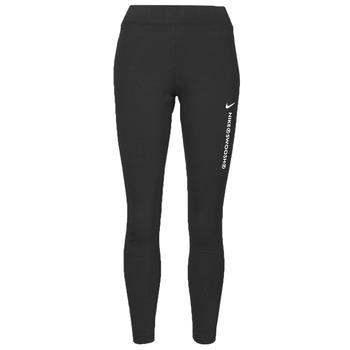 衣服 女士 紧身裤 Nike 耐克 NSSWSH LGGNG HR 黑色 / 白色