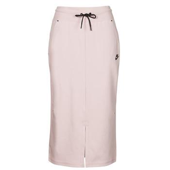 衣服 女士 半身裙 Nike 耐克 NSTCH FLC SKIRT 米色 / 黑色