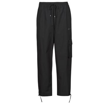 衣服 女士 厚裤子 Nike 耐克 NSICN CLASH PANT CANVAS HR 黑色 / 灰色