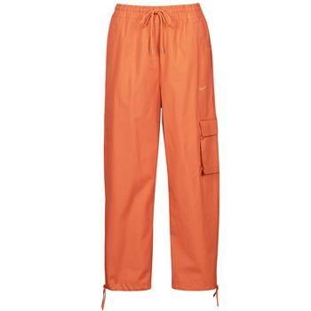 衣服 女士 厚裤子 Nike 耐克 NSICN CLASH PANT CANVAS HR 棕色 / 橙色