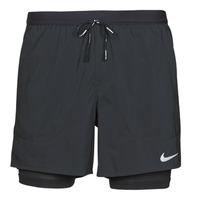 衣服 男士 短裤&百慕大短裤 Nike 耐克 DF FLX STRD 2IN1 SHRT 5IN 黑色