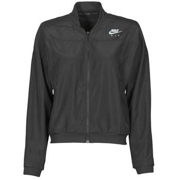 衣服 女士 冲锋衣 Nike 耐克 AIR JACKET 黑色 / 银灰色