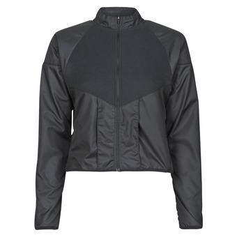 衣服 女士 冲锋衣 Nike 耐克 RUN DVN TOP MID 黑色 / 金色