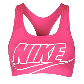 衣服 女士 文胸 Nike 耐克 DF SWSH FUTURA GX BRA 玫瑰色 / 白色
