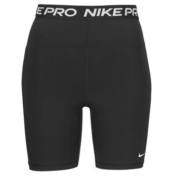 衣服 女士 短裤&百慕大短裤 Nike 耐克 NIKE PRO 365 SHORT 7IN HI RISE 黑色 / 白色