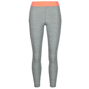 衣服 女士 紧身裤 Nike 耐克 NIKE PRO TIGHT 7/8 FEMME NVLTY PP2 灰色 / 橙色 / 白色
