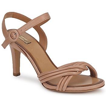 鞋子 女士 凉鞋 Eva Turner  棕色 / Glacé
