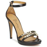 鞋子 女士 凉鞋 Eva Turner  黑色