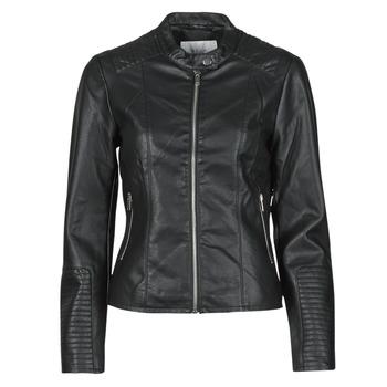 衣服 女士 皮夹克/ 人造皮革夹克 Vila VIBLUE 黑色