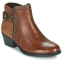 鞋子 女士 短靴 Rieker 瑞克尔 BELLA 棕色