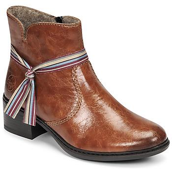 鞋子 女士 短靴 Rieker 瑞克尔  棕色
