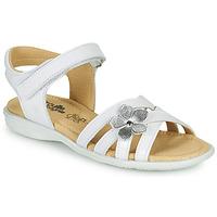 鞋子 女孩 凉鞋 Citrouille et Compagnie HERTUNE 白色