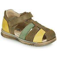鞋子 男孩 凉鞋 Citrouille et Compagnie FRINOUI 卡其色
