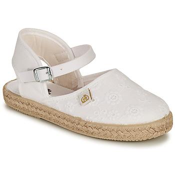 鞋子 女孩 平底鞋 Citrouille et Compagnie ORINO 白色